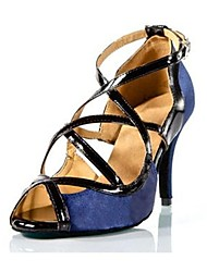 Frauen Satin oberen Schnalle Ballsaal Latein Schuhe Sandalen (mehr Farben)