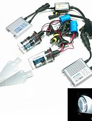 12v 35w 9004 / 9007-2 6000k ocultó el kit de conversión de la lámpara de xenón de conjunto con el soporte de montaje (lastre de plata hiper delgada)