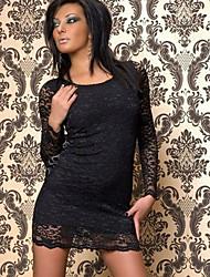 N&S Women's Sexy Lace Bodycon Dress