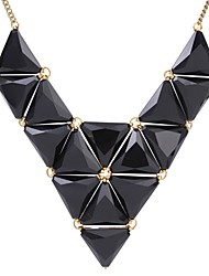 Tengfei westlichen Stil Dreieck Halskette