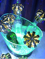 Plastic LED Ice Bucket for Bar & Hotel Use