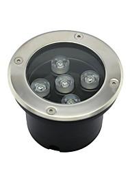 5pcs LED High Power 5W Outdoors Underground Lamp (AC85-265V)