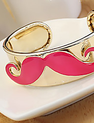 H&D Women's Korea Fashionable Mustache Bracelets
