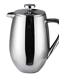 26 oz Modern Drum Type Stainless Steel Coffee Percolator