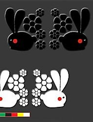 Lovely Running Rabbit Car Doors to Stick