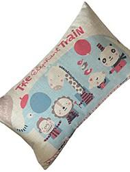 мультфильм слон автобус декоративная подушка со вставкой