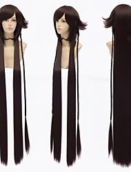 pandora corações b-coelho cosplay preto marrom peruca
