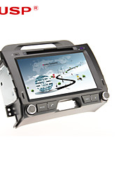 CUSP® 8 Inch 2Din In-Dash Car DVD Player for KIA SPORTAGE 2010-2013 Support GPS,BT,RDS,Game,iPod
