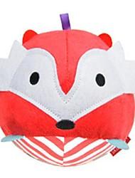 brinquedos de algodão macio bebê bola forma raposa chocalho