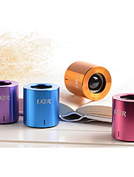 Lker Grace Mini Aluminum Bluetooth 3.0 Speaker Portable Mobile Car Stereo Subwoofer Multi-Colored Options