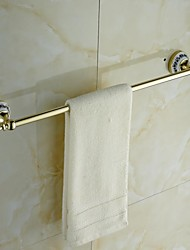 Ceramic Brass Golden Ti-PVD  Towel Bar
