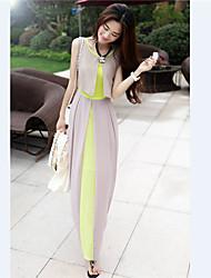 Women's Dresses , Chiffon Casual YZIS