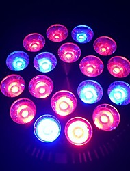 E27 18W 1080-1440LM 12Red and 6Blue Light LED Spot Bulb Plant Grow Light (85-265V)
