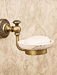 Antique Finish  Brass Material  Wall Mounted Soap Dishe