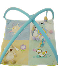 Kids' Soft Crawling Play Mat Light Blue Carpet