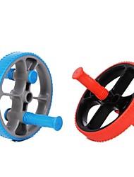 joerex® roda de exercício de funções múltiplas (cores sortidas azul ou vermelho)