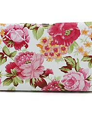 Leatherette Wedding / Special Occasion Clutches / Evening Handbags with Flowers