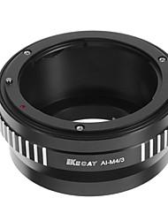 kecay bague de conversion de haute précision Nikon AI-m4 / 3 pour Nikon AI / af