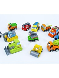 12 x Cute Plastic Toy Car Pull Them back And Watch Them Go