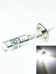 h1 P14.5s Cree XP-E LED 25w 1600-1800lm 6500-7500K ac / dc12v-24 niebla blanca plata