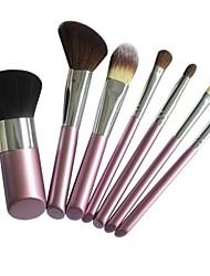 7 Makeup Brushes Set Nylon Face / Lip / Eye Sedona