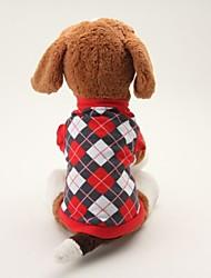 Hunde - Sommer - Baumwolle - Cosplay - Blau / Schwarz - T-shirt - XS / M / S / L
