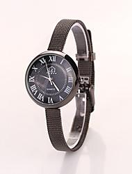 siete muchacha europea _155 reloj redondo