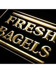 I416 pan fresco tienda de neón signo luz