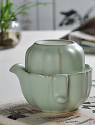 cinese Penglai paese delle fate tema tè in porcellana set, 1 pc teiera, 1 pc tazza di tè