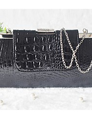 New Women's Fashion Crocodile Much with the Handbag Shoulder Bag Evening Bags
