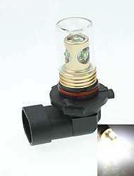 9006 HB4 P22D CREE XP-E LED 20W 1300-1600LM 6500-7500K AC / DC12V-24 Fog White - Gold Black