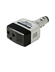 HST Universal Multifunctional Portable Car Power Adapter for Cell Phone  Light Grey  Black 12V 24V