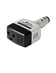 adaptador multifuncional universal tgv portátil de alimentação do carro para cinza claro telefone celular 12v 24v preto