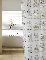 Lovely Kids Polyester Shower Curtain