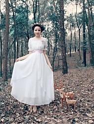 Платье - Макси - Шифон - Секси