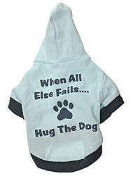 Stylish Hug The Dog Pattern with Hoodie for Pets Dogs (Assorted Size)