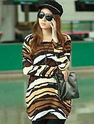 JOYCE®Women's Fashion Personality Tiger Stripes Loose Knit Sweaters