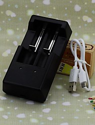 V6-2 Battery Charger Adapters for AA and Others battery 2pcs