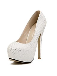 Women's Shoes Round Toe Stiletto Heel  Pumps  Shoes (More Colors)