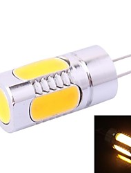 G4-5D 5W 250LM 3500K Warm White LED Light Bulb(DC 12V)