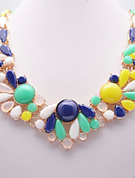 Eternity Women's Multi Color Gem Necklace