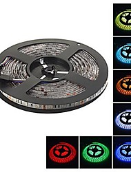 5M 5050 Smd 300 led Strip Light Waterproof RGB 3000-3600LM 6000-6500K DC12V IP68