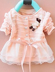 Toddlers Girls Princess Cotton Gauze Party Tops Coat Kids Fashion Clothes Spring