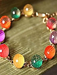 KEGG® Women's fashion candy color colorful beads bracelet