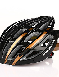 MYSENLAN Men's Mountain / Road / Sports Bike helmet 24 Vents Cycling Cycling / Mountain Cycling / Road Cycling / Winter SportsLarge: