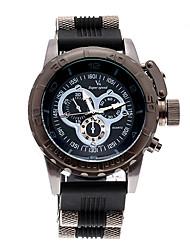 v6 Shaopeng Halei luxo v6 aço inoxidável homens de quartzo preto esporte waterpoof relógio de pulso v60091