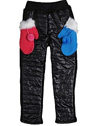 Стильные теплые брюки с карманами для девочек