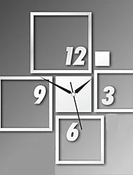 Современные, акриловые, зеркальные, настенные часы