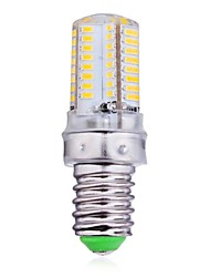 4W E14 LED Mais-Birnen 64 SMD 3014 300 lm Warmes Weiß / Kühles Weiß AC 220-240 V