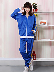 Vocaloid Kaito Blue Polyester Long Sleeve Cosplay Costume